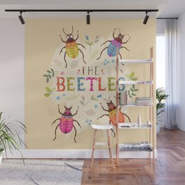 The Beetles Wall Mural
