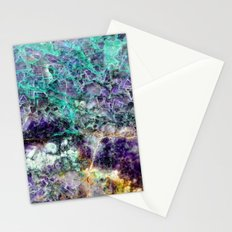 amethyst stone texture Stationery Cards