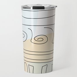 Antique Temple Travel Mug