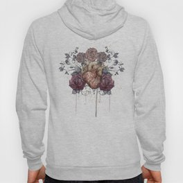Flowers from my heart Hoody