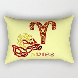 ARIES KNOT Rectangular Pillow