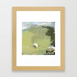 2 Sheep Framed Art Print