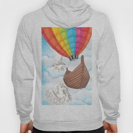 PEGASUS and RAINBOW AIR BALLON Hoody