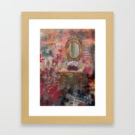 Another Day, Another Story Framed Art Print