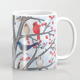 winter birds of North America Coffee Mug