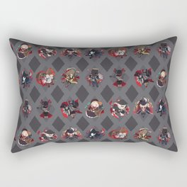 Bloodborne Argyle Rectangular Pillow