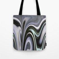 vertigo Tote Bags featuring Vertigo by Dorothy Pinder