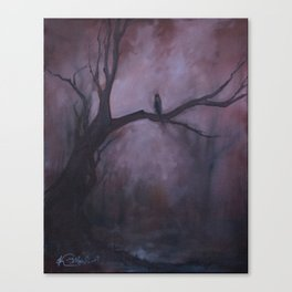 Free and Alone Canvas Print