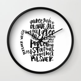 beers Wall Clock