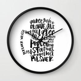 beers Wall Clock