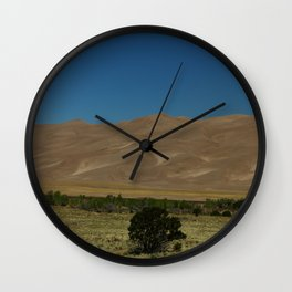 Great Sand Dunes Wall Clock