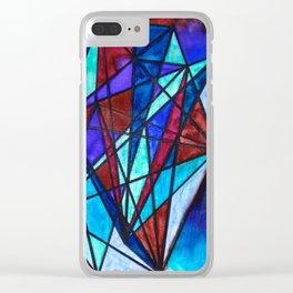 Blurs Clear iPhone Case