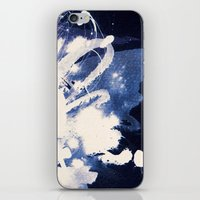 fear iPhone & iPod Skins featuring Fear by Holly Sharpe