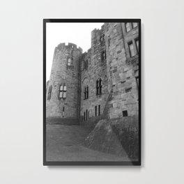 Castle Yard Metal Print