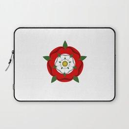 Tudor dynasty rose flag united kingdom great britain Laptop Sleeve