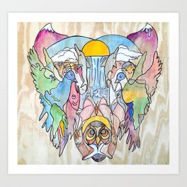 Eternal Equilibrium Art Print