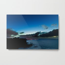 Dunluce castle,Ireland,Northern Ireland,Antrim coast Metal Print