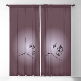 Santa Claus is Sleeping in my house - Laundry room Blackout Curtain