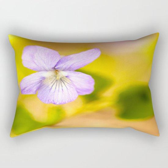 Wild Pansy  Rectangular Pillow
