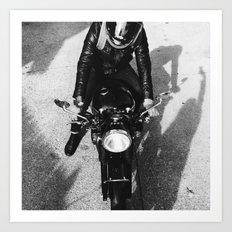 Motorcycle Joe Two Art Print