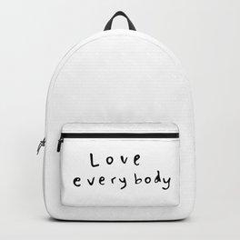 Love Everybody Backpack