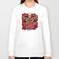 gym Long Sleeve T-shirts featuring T gym by Buby87
