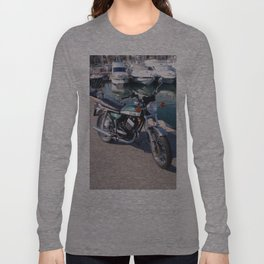 Classic Two Stroke Motorcycle Long Sleeve T-shirt