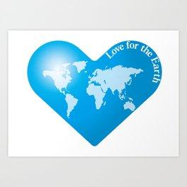 Love for the Earth_B Art Print