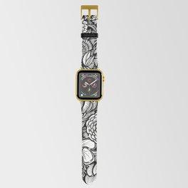 Peony Fascination Apple Watch Band