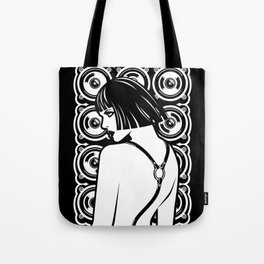 Harness Girl Tote Bag
