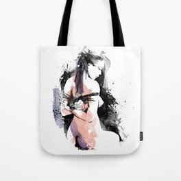 Shibari - Japanese BDSM Art Painting #9 Tote Bag