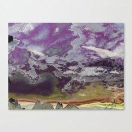 MySkyISreallyPurple Canvas Print