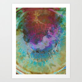 Candle Eye Art Print