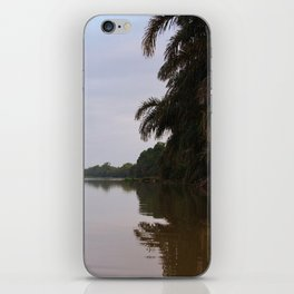 Jungle View of The Pacuare River iPhone Skin