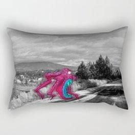 Unseen Monsters of Mount Shasta - Rossivink Deshla Rectangular Pillow