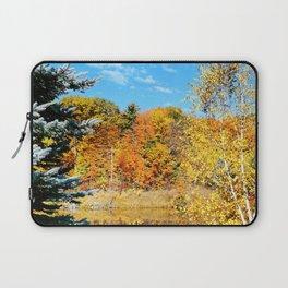 Autumn Pond Laptop Sleeve