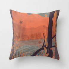 Autumn in the Gorge... Throw Pillow