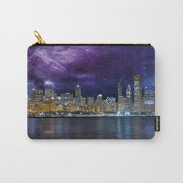 Spacey Chicago Skyline Carry-All Pouch