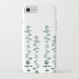 Elegant Eucalyptus  iPhone Case