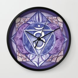 Third Eye Chakra Ajna Wall Clock