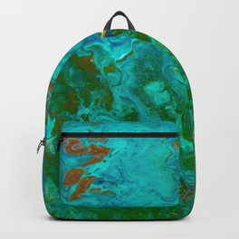 Earth by Noora Elkoussy Backpack