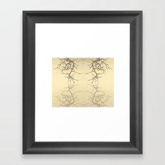 branches#06 Framed Art Print