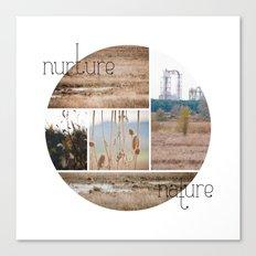 nurture|nature Canvas Print