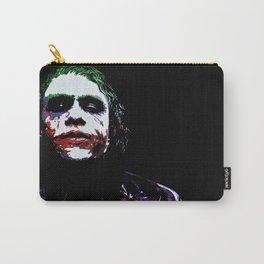 Heath's Joker Pop art Portrait Carry-All Pouch