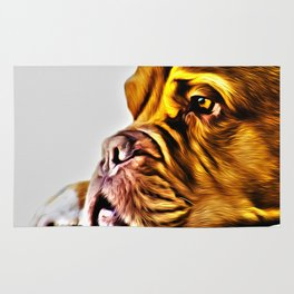 Dog Art Rug