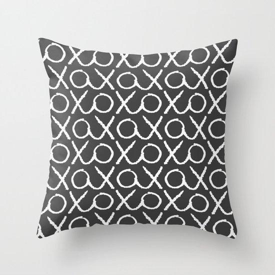XOXO...LOVE Throw Pillow
