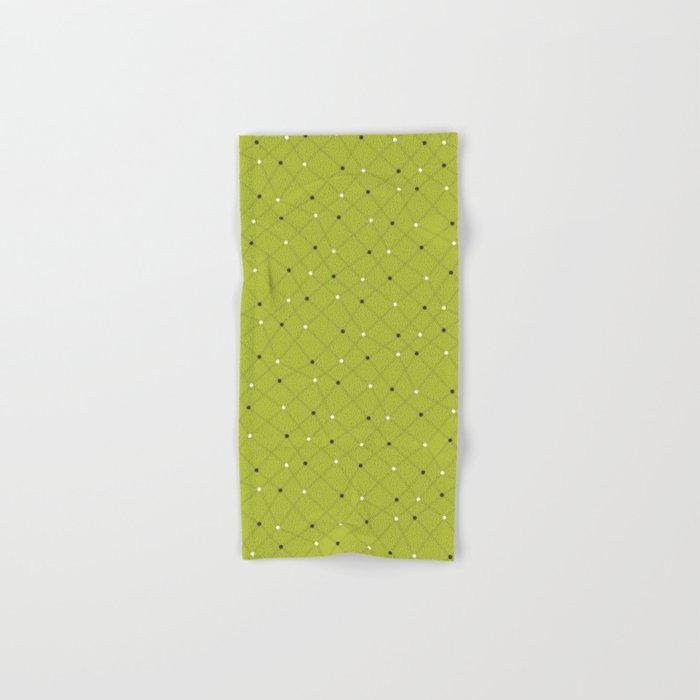 Chemistry Class Doodles - Lime Hand & Bath Towel