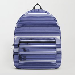 Bleachers In Silver Blue Backpack