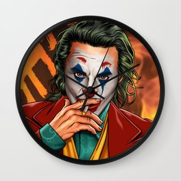 JOKER - Let's Put A Smile On That Face Wall Clock