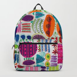 Happy Abstract Pattern Backpack